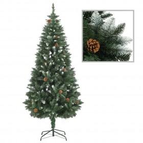 vidaXL nojumes jumta maiņas pārklājs, 3 x 4 m, 310 g/m², zaļš