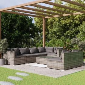 vidaXL mākslīgais zālājs, 1x10m/20-25 mm, zaļš