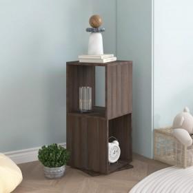vidaXL dārza uzglabāšanas kaste, brūna, 120x56x63 cm