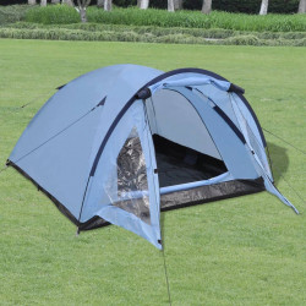 telts 3 personām, zila