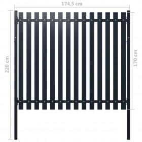 Plāns audums, 1,45 x 20 m, zaļš