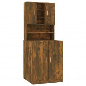 grozāmi biroja krēsli, 2 gab., tumši pelēks audums