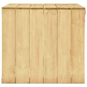 galda paliktņi, 4 gab., melna, dabīga krāsa, 38 cm, kokvilna