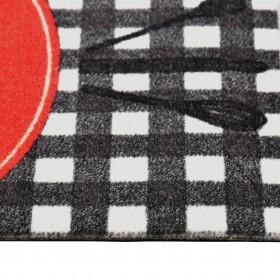 vidaXL rullo žalūzija dušai, 160x240 cm, ar kvadrātiem