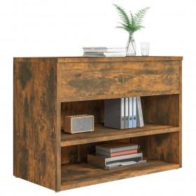 nojume atkritumu konteineram, 240 L, impregnēts koks