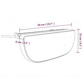 kaķu pārvadāšanas kaste, pelēka, 45x35x35 cm, dabisks vītols