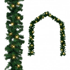 Ziemassvētku vītne ar LED lampiņām, 5 m