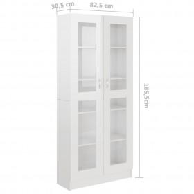 drēbju pakaramie, 20 gab., balti, neslīdošs cietkoks
