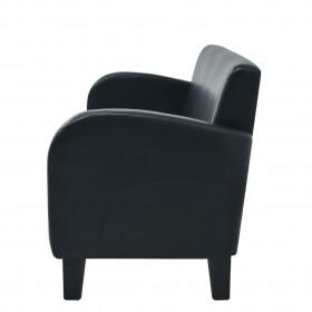 paklājs Berber Shaggy, PP, zila un bēša krāsa, 120x170 cm