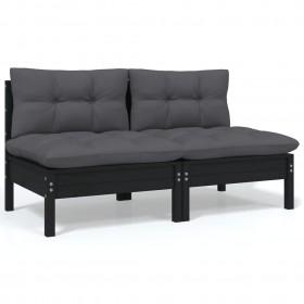 terases flīzes, 20 gab., pelēkas, 30x30 cm, akācijas masīvkoks