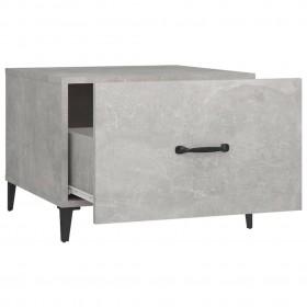 bistro galds, tumši brūns, 80 cm, MDF
