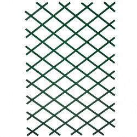 Nature dārza špalera, 100x200 cm, zaļš PVC, 6040704