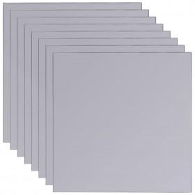 paklājs, gaiši pelēks, 60x90 cm, mākslīga aitāda