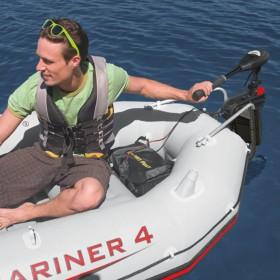 12-daļīgs ģitāras komplekts ar 6 stīgām un ekvalaizeru, zila