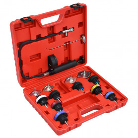 14-daļīgs dzesēšanas sistēmas un radiatora spiediena mērītājs