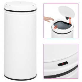 automātiska atkritumu tvertne ar sensoru, oglekļa tērauds, 80 L