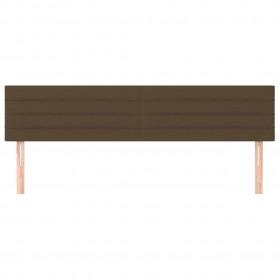 suņu dīvāns, brūns, 48x48x32 cm, plīšs, mākslīgā āda