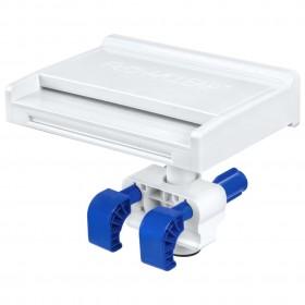 apavu skapis, balta un ozolkoka krāsa, 54x34x183 cm