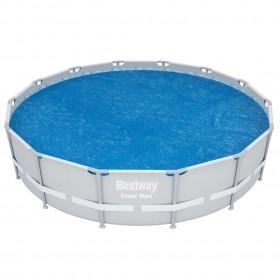 piepūšams vingrošanas paklājs ar pumpi, 700x100x20 cm, rozā PVC