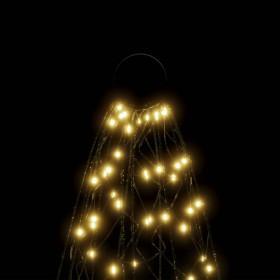 piepūšams vingrošanas paklājs ar pumpi, 400x100x15 cm, zils PVC