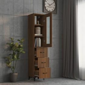 vannasistabas skapītis, melns, 60x33x58 cm, skaidu plāksne