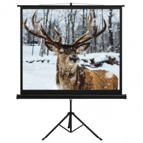 """projekcijas ekrāns ar statīvu, 57"""", 16:9"""