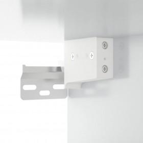 saliekams masāžas galds, 4 daļas, alumīnijs, rozā