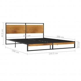 taburetes, saliekamas cita uz citas, 4 gab., melna plastmasa