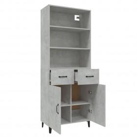 HI alus tenisa galds, salokāms, regulējams augstums, melns