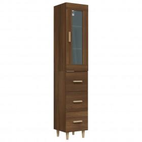 vannasistabas mēbeļu komplekts, spīdīgi melns, skaidu plāksne