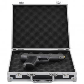 ieroču kaste, alumīnijs, ABS, melna