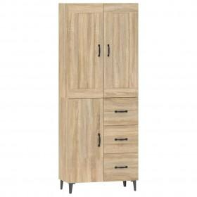 biroja krēsls, grozāms, liekts koks un melna mākslīgā āda