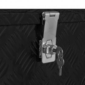 saliekams pludmales krēsls, eikalipta masīvkoks, melns audums