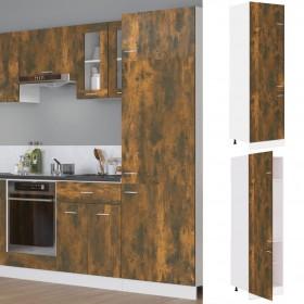 kāpņu profili, 15 gab., L forma, 100 cm, brūns alumīnijs