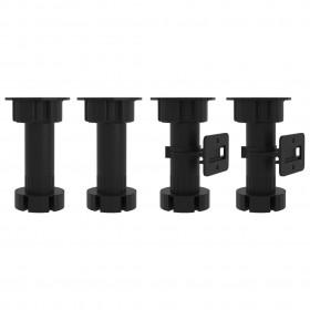 L-formas jumta malas profili, 5 gab., pelēki, 170 cm, alumīnijs
