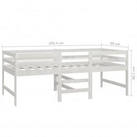 kukaiņu aizkars, 56x185 cm, zaļš un balts šenils