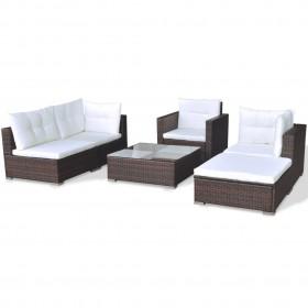 Pudele blenderim Active Smoothie 570ml oranža