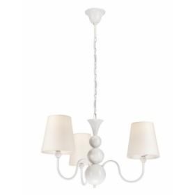 galda lampa, apaļa, E27, melna