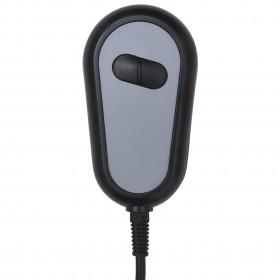 TV atpūtas krēsls, atgāžams, sarkana mākslīgā āda