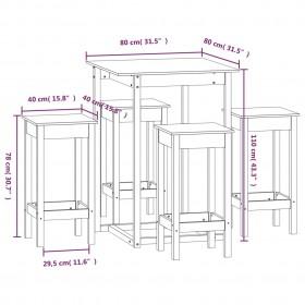 virtuves krēsli, 2 gab., balts mango masīvkoks