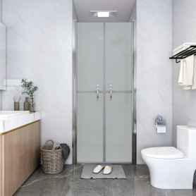 dušas durvis, 86x190 cm, ESG, matētas