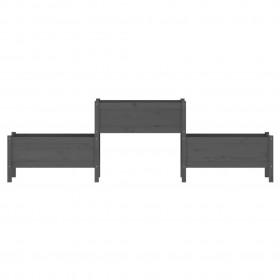 divdaļīgs vannasistabas mēbeļu komplekts, melns, keramika