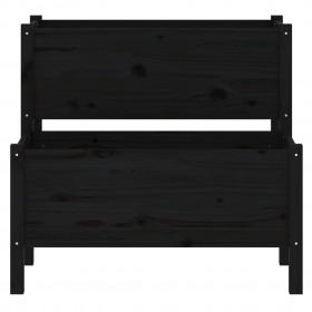 terases flīzes, 22 gab., WPC, 30x30 cm, 2 m2, melnas