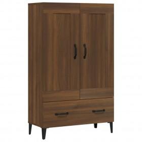 biroja krēsls, melna un oranža mākslīgā āda