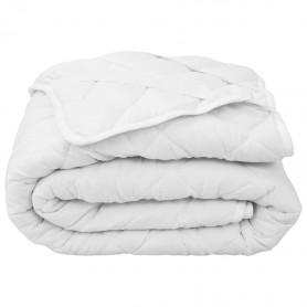 stepēts matrača pārvalks, balts, 160x200 cm, viegls