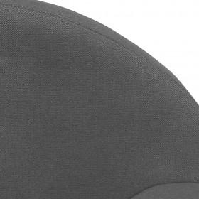 virtuves krēsli, 2 gab., brūna mākslīgā āda