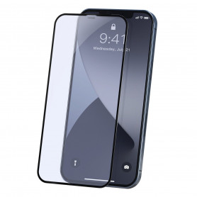 Tempered glass 0.23mm Baseus for iPhone 12 / iPhone 12 Pro - 2020 (2pcs)