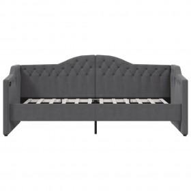 dārza uzglabāšanas kaste, antracītpelēka, 171x99x93 cm