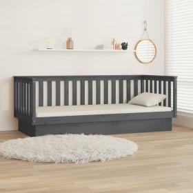 dārza spogulis, taisnstūra, 50x80 cm, melns