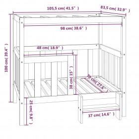 5-daļīgs dārza dīvānu komplekts, matrači, brūna PE rotangpalma